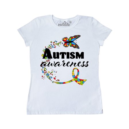 Autism Merchandise (Autism Awareness Butterfly Ribbon Women's)