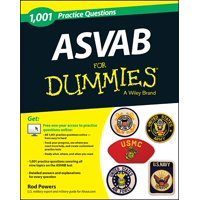 For Dummies: 1,001 ASVAB Practice Questions for Dummies (+ Free Online Practice) (Paperback)