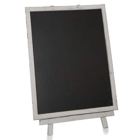 - Wooden Chalkboard with Easel - Large 16in