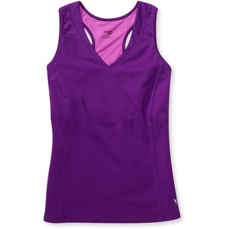 810f3a631e5bf Danskin Now - Danskin Now Women s Dri-More Shelf-Bra Racerback Tank ...