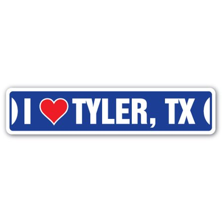 Costumes Tyler Tx (I LOVE TYLER, TEXAS Street Sign tx city state us wall road décor)