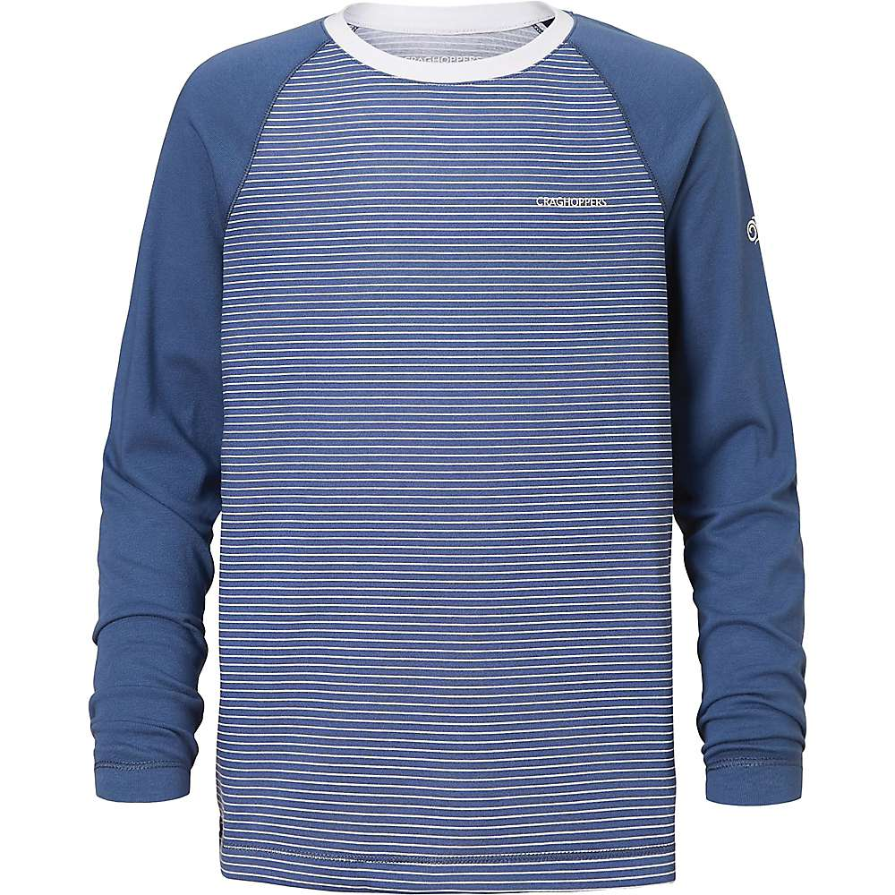 Craghoppers Kid's NosiLife Barnaby LS T-Shirt