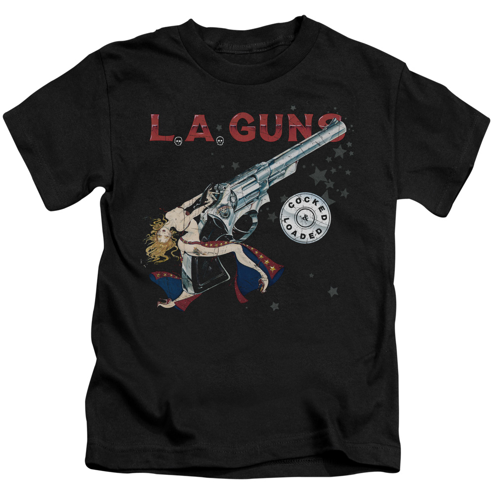 La Guns Cocked And Loaded Little Boys Shirt