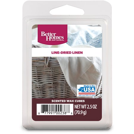 better homes and gardens wax cubes line dried linen - Better Home And Garden