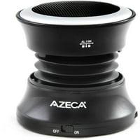 Azeca Mini Pop-Up Bluetooth Speaker with Carry Bag