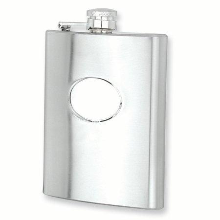 Stainless Steel 8oz Hip Flask Tankard Bar Wine Smoking Rebel For Women