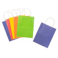 Medium-Size Primary Color Paper Gift Bags Value Pack: 8 x 10.25 inches, 13 pc