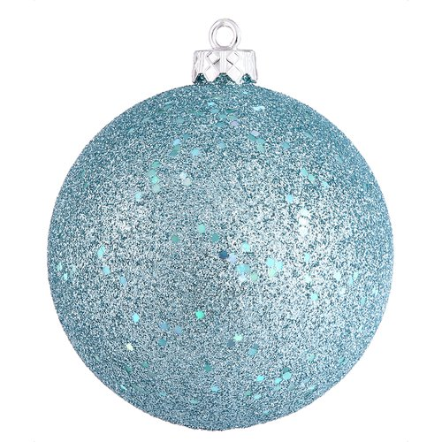 The Holiday Aisle Drilled Cap Sequin Ball Ornament