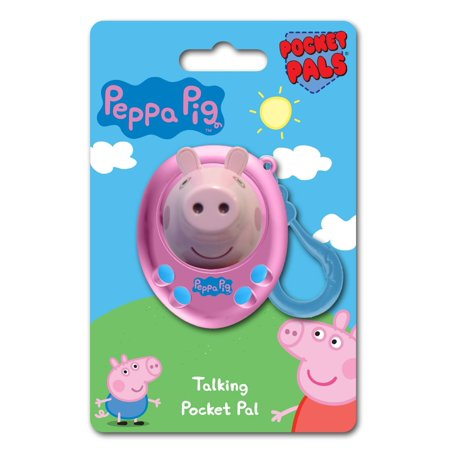 Peppa Pig Pocket Pal Talking Clip-On Key Ring
