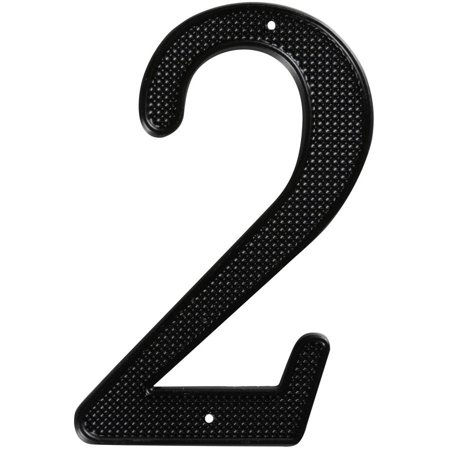 "Stanley Hardware 579928 4"" Black #2 House Numbers"