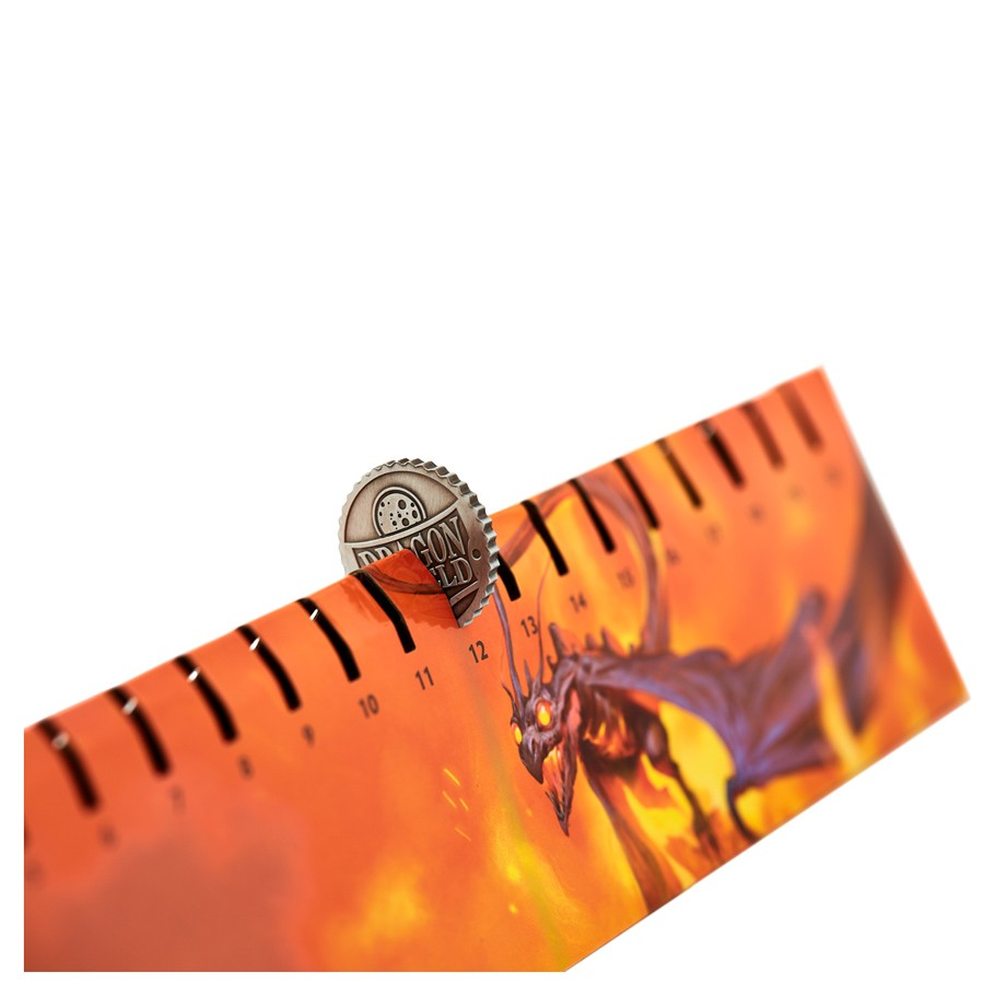 Dragon Shield Playmat with Coin - Matte Orange