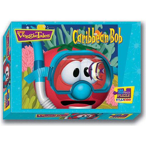 Veggies Caribbean Bob Puzzle, 100 Pieces