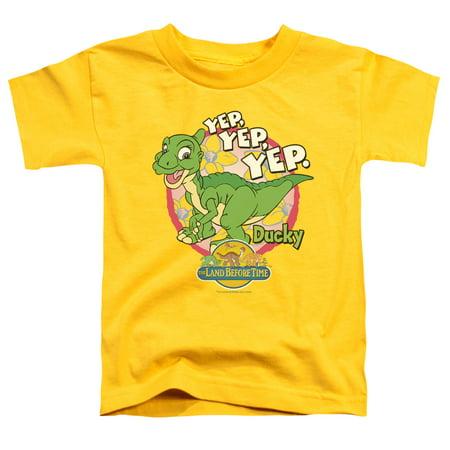 - Land Before Time Ducky Little Boys Shirt