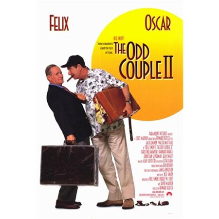 Pop Culture Graphics MOV211073 Neil Simons The Odd Couple 2 Movie Poster, 11 x 17 - Pop Art Halloween Couple