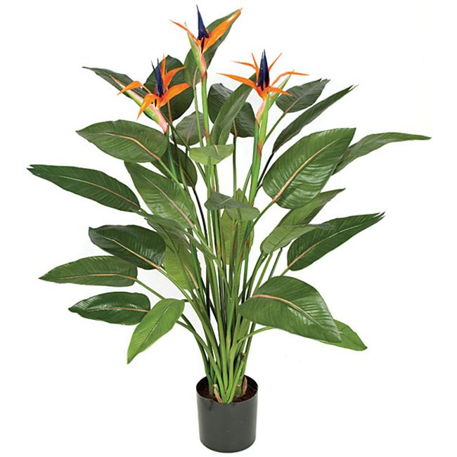 Autograph Foliages W-130010 55 in. BIRD OF PARADISE PLANT - ORANGE