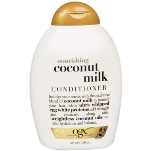 Organix Nourishing Coconut Milk Conditioner 13 oz (Pack of 3)