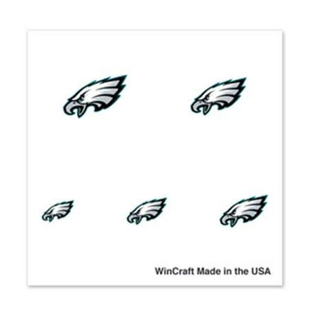 Philadelphia Eagles Fingernail Tattoos - 4 Pack](Philadelphia Eagles Tattoos)