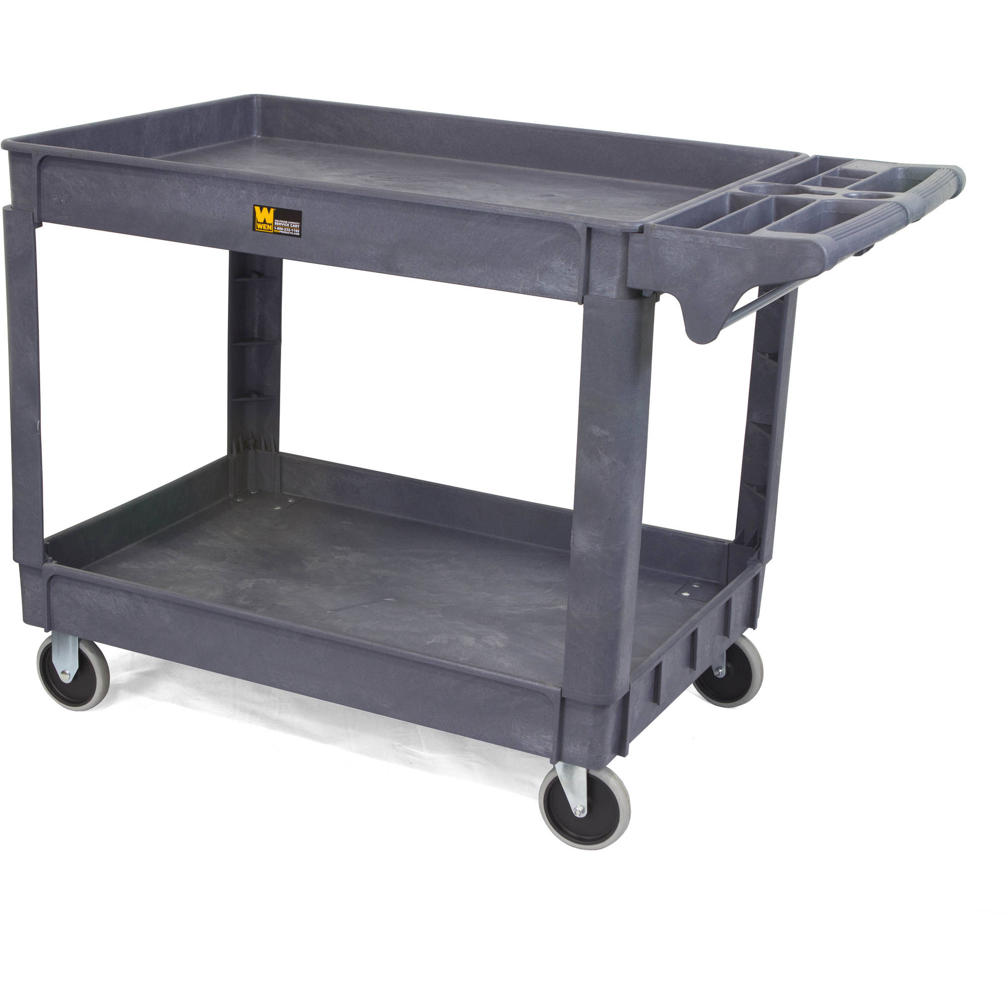 500-Pound Capacity 36-by-24-Inch Service Cart, Extra Large