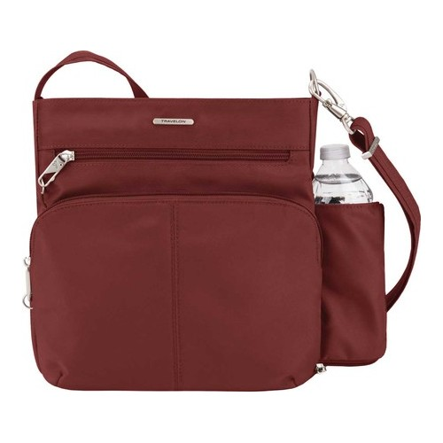 "Travelon Anti-Theft Classic North/South Crossbody  12.5"" x 12"" x 4"""