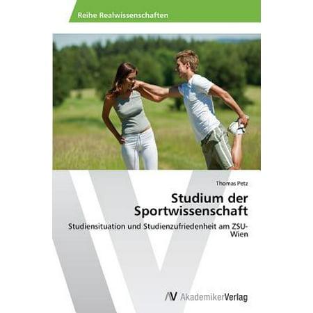 Studium Sportwissenschaft