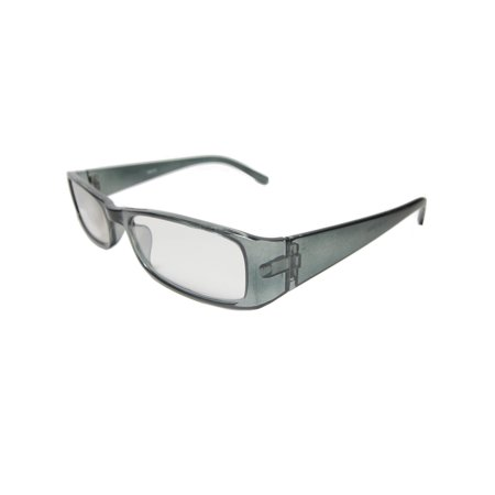 Clear Reading Glasses New Frame Magnify Power Strength (Clear Frame Readers)