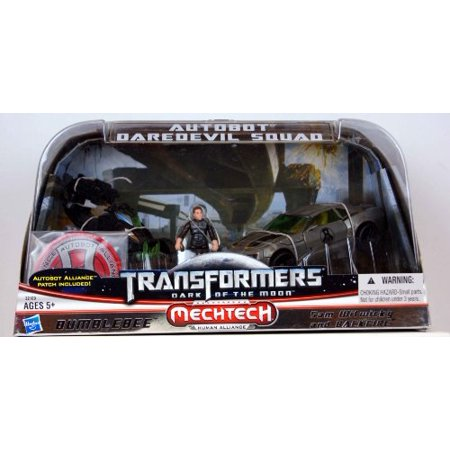 Transformers 3 Dark of The Moon Exclusive Autobot Daredevil Squad Bumblebee, Sam Witwicky (Transformers 3 Dark Of The Moon Trailer)