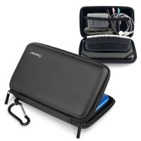 Insten Eva Hard Protective Case Travel Pouch for Nintendo NEW 3DS XL / NEW 2DS XL / 3DS XL / 3DS LL - Black