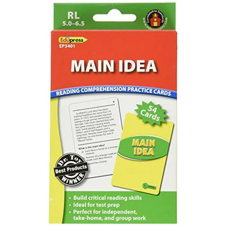 Main Idea Practice Cards Reading - image 1 de 1