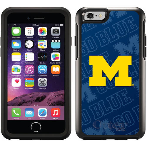 Michigan Watermark Design on OtterBox Symmetry Series Case for Apple iPhone 6