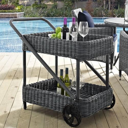 Brayden Studio Keiran Bar Serving Cart by