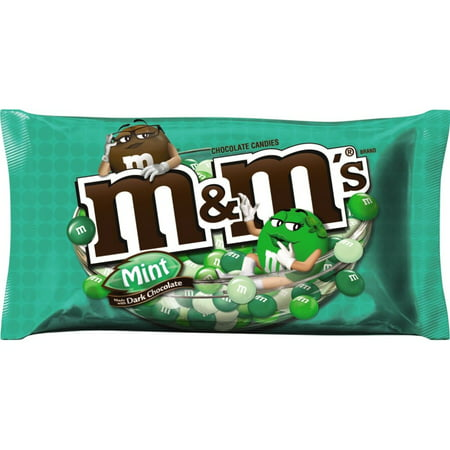 - M&M's Mint Dark Chocolate Candy, 10.19 Oz.
