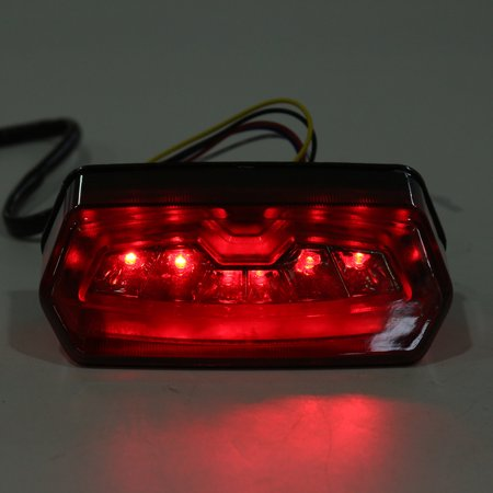 Motorcycle turnsignal LED Brake Tail Light Integrated Turn Signals For Honda MSX 125 Grom - image 1 of 10