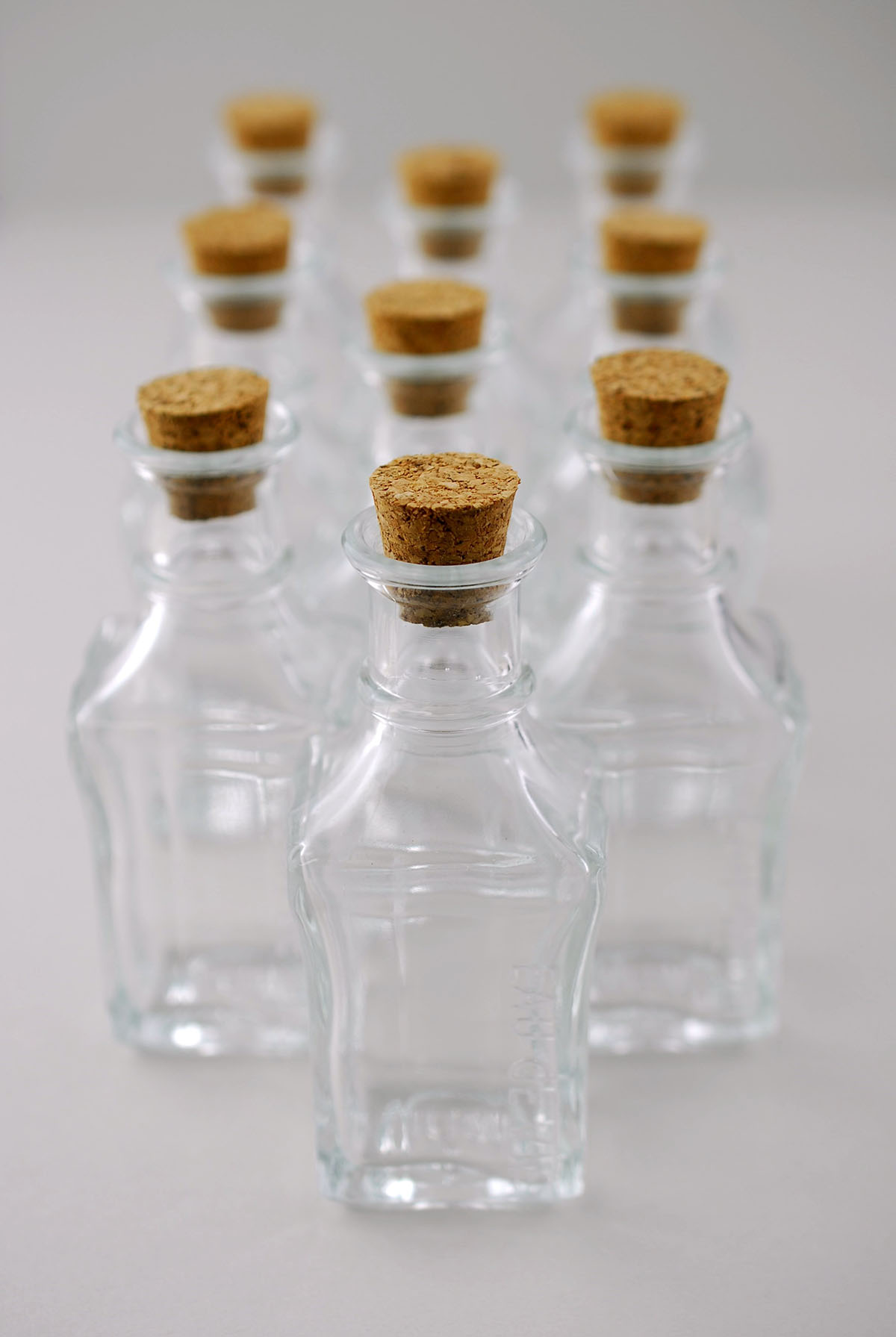 Small Glass Bottles with Cork 3.9 inches (Pack of 10) - Walmart.com