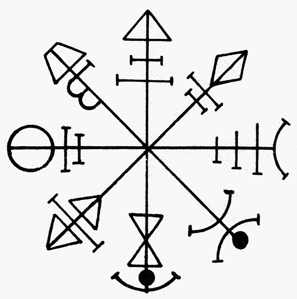 Pentacle Of Venus Nmagical Talisman Used To Control The Spirit Of
