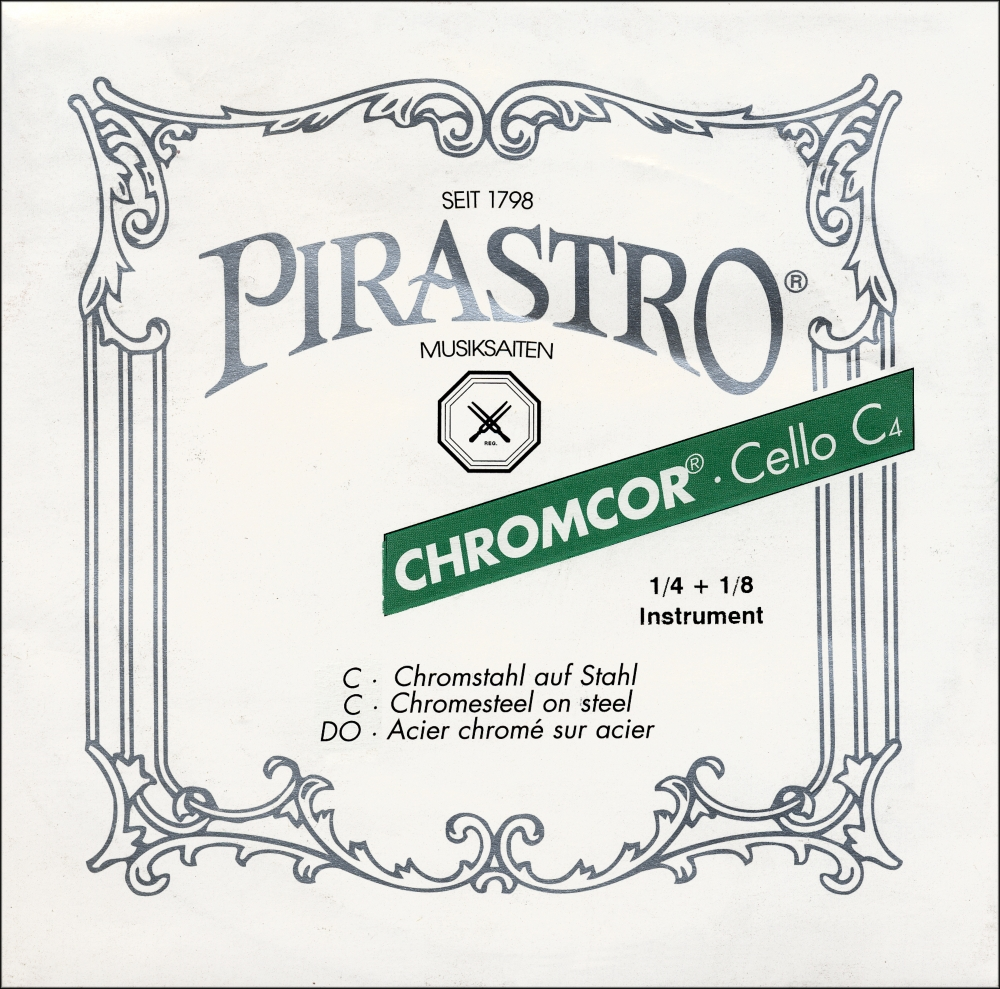 Pirastro Chromcor Series Cello G String 1 4-1 8 by Pirastro