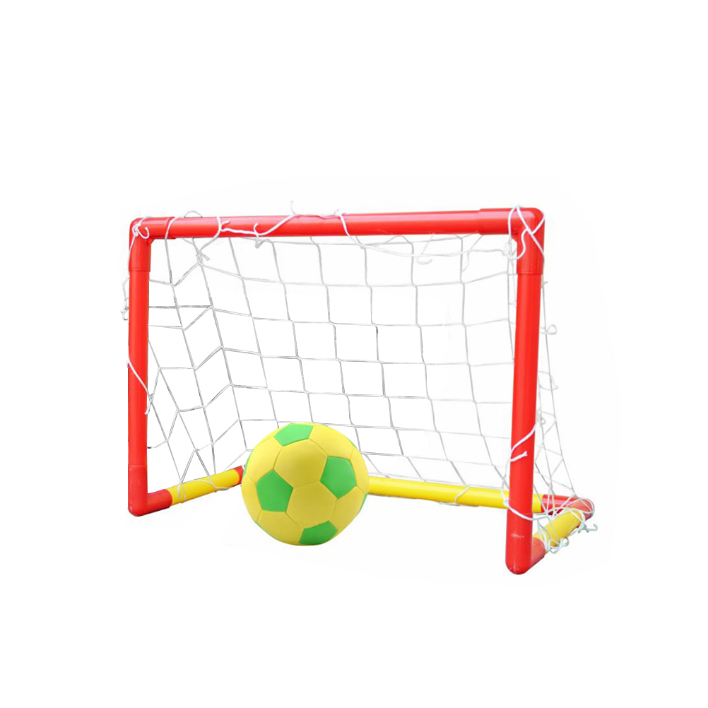 Soccer Goals Set with Inflatable Soccer Ball for Kids Children Backyard Soccer Gate Toy... by