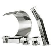 Kokols MPF01 Deck Mount Bathtub Faucet with Hand Shower