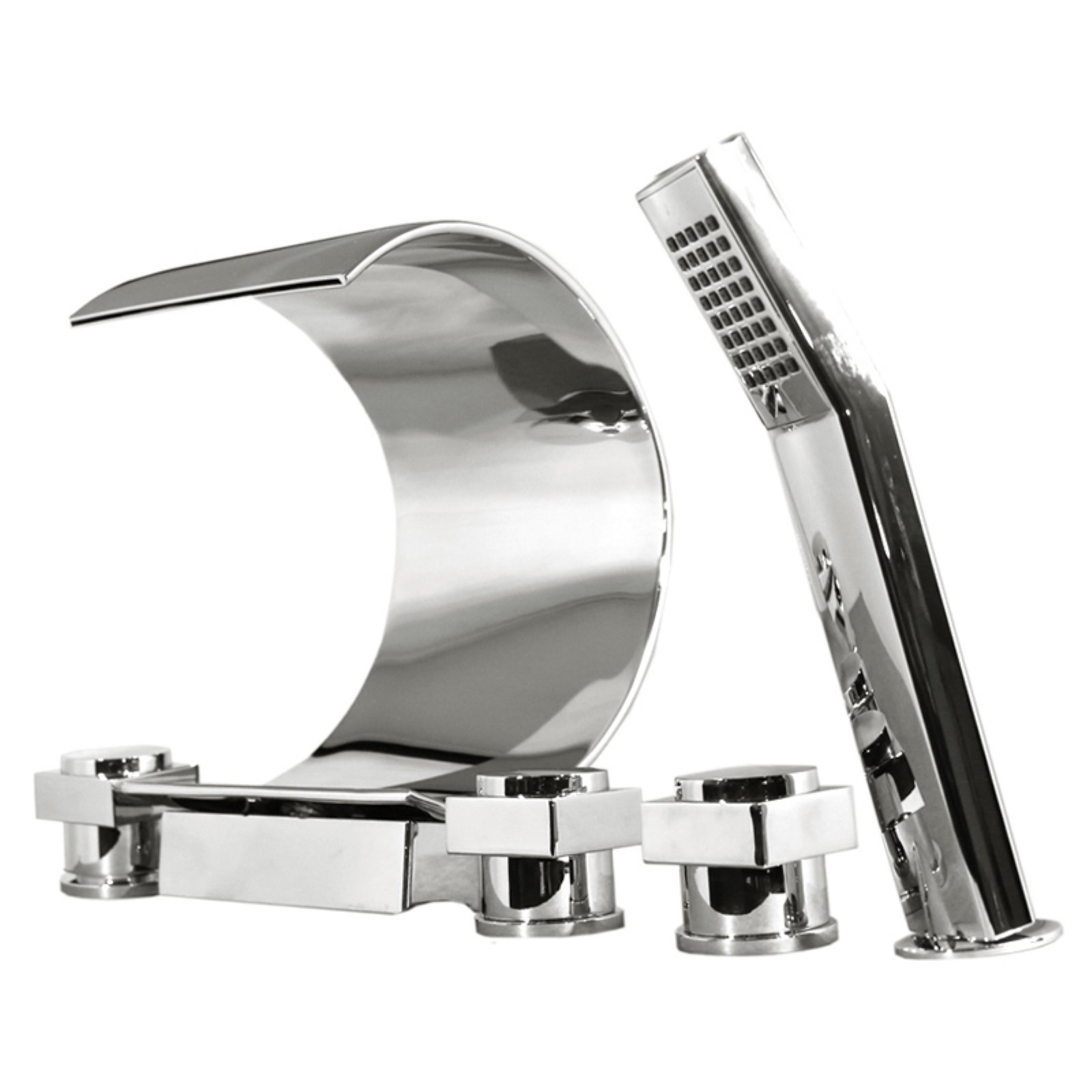 Kokols MPF01 Deck Mount Bathtub Faucet with Hand Shower
