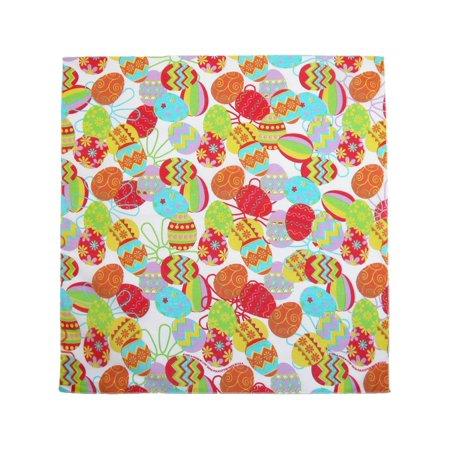 ctm®  easter egg print bandana, multi-color](Bandana Print Paper)