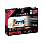 VisionTek Radeon HD2400 Pro - Overclocked Edition - graphics card - Radeon HD 2400PRO - 256 MB DDR2 - PCIe x16