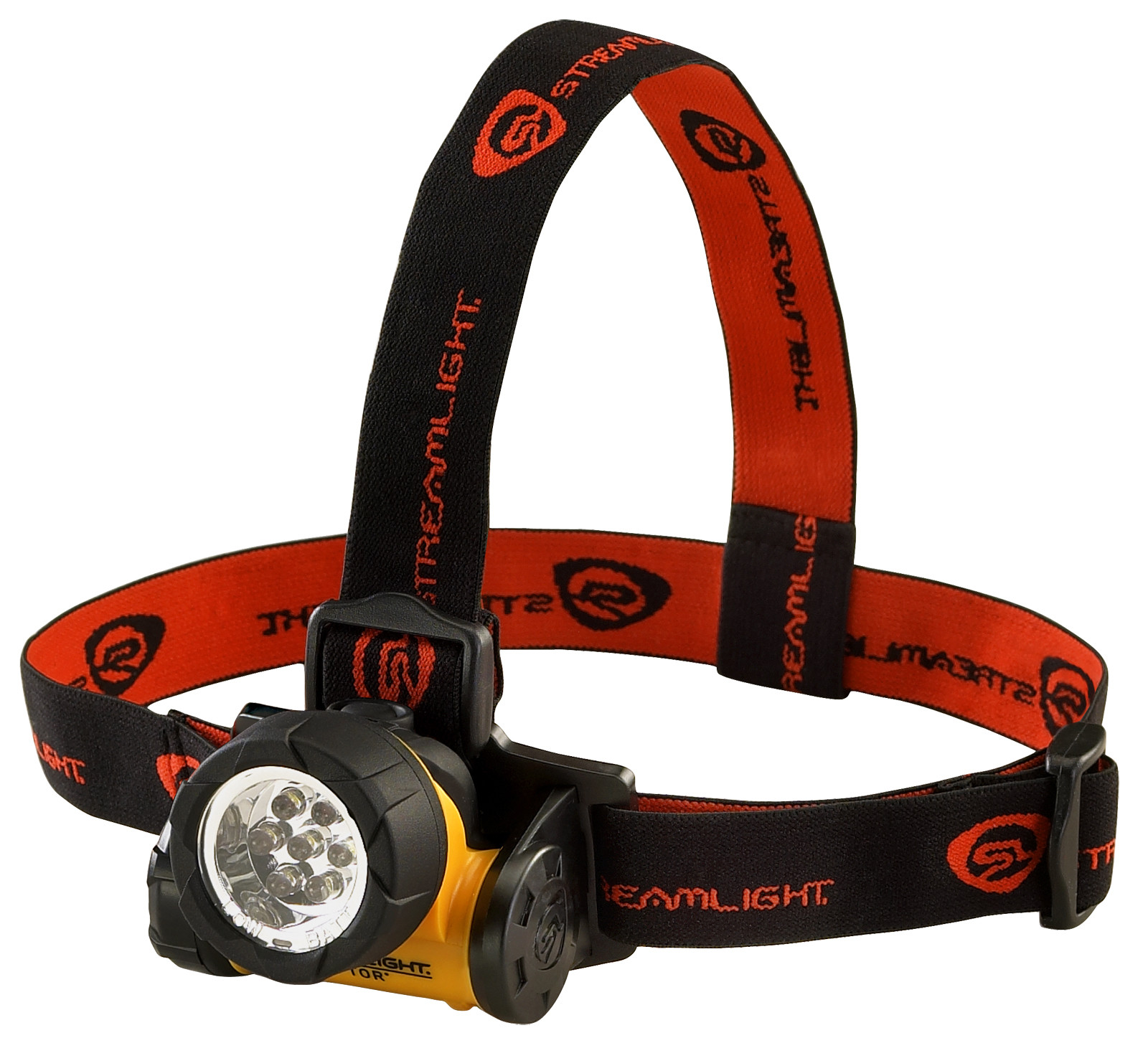 Streamlight Septor LED Div 2 Flood Headlamp, Yellow