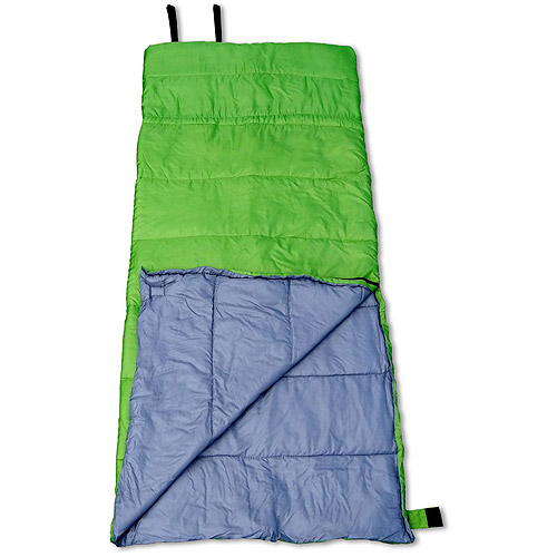 GigaTent Badger 35-Degree Adult Sleeping Bag, Green