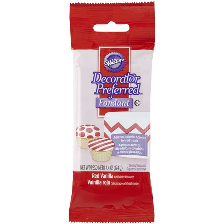 Wilton Decorator Preferred Fondant, Red, - Buy Fondant