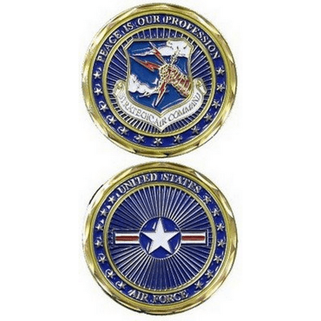 Logo Challenge Coin - Strategic Air Command Challenge Coin