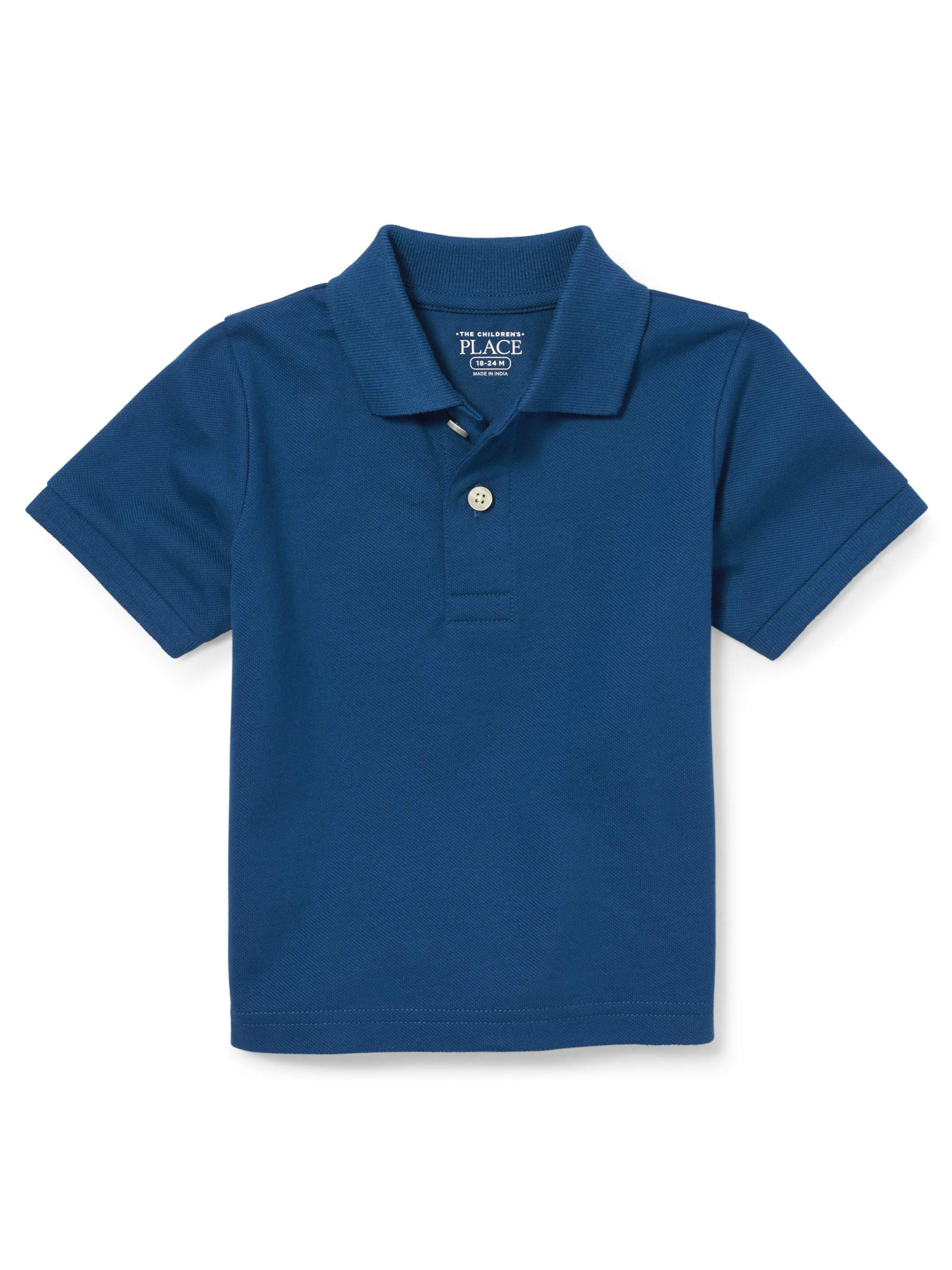 Baby And Toddler Boys Short Sleeve Solid Pique Polo
