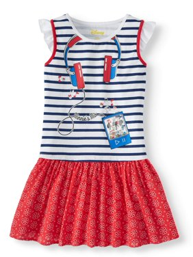 823e1249d68 Product Image Minnie   Mickey Jersey and Eyelet Dress (Little Girls   Big  Girls). Minnie Mouse