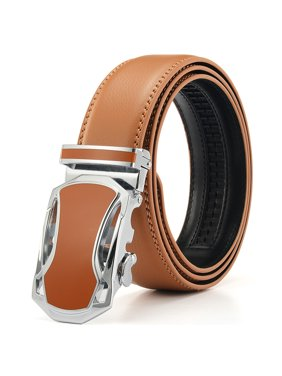 Product Image Xhtang Men s Leather Ratchet Dress Belts with Automatic  Buckle Gift Box 27bfe8e8fc4