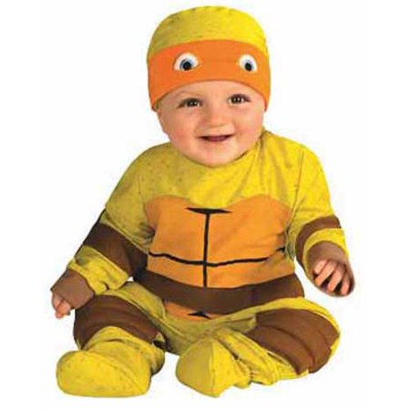 Teenage Mutant Ninja Turtle Multi Pack Infant Boys Halloween Costume - Teenage Mutant Ninja Turtle Muscle Halloween Costume