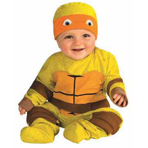 Teenage Mutant Ninja Turtle Multi Pack Infant Boys Halloween Costume