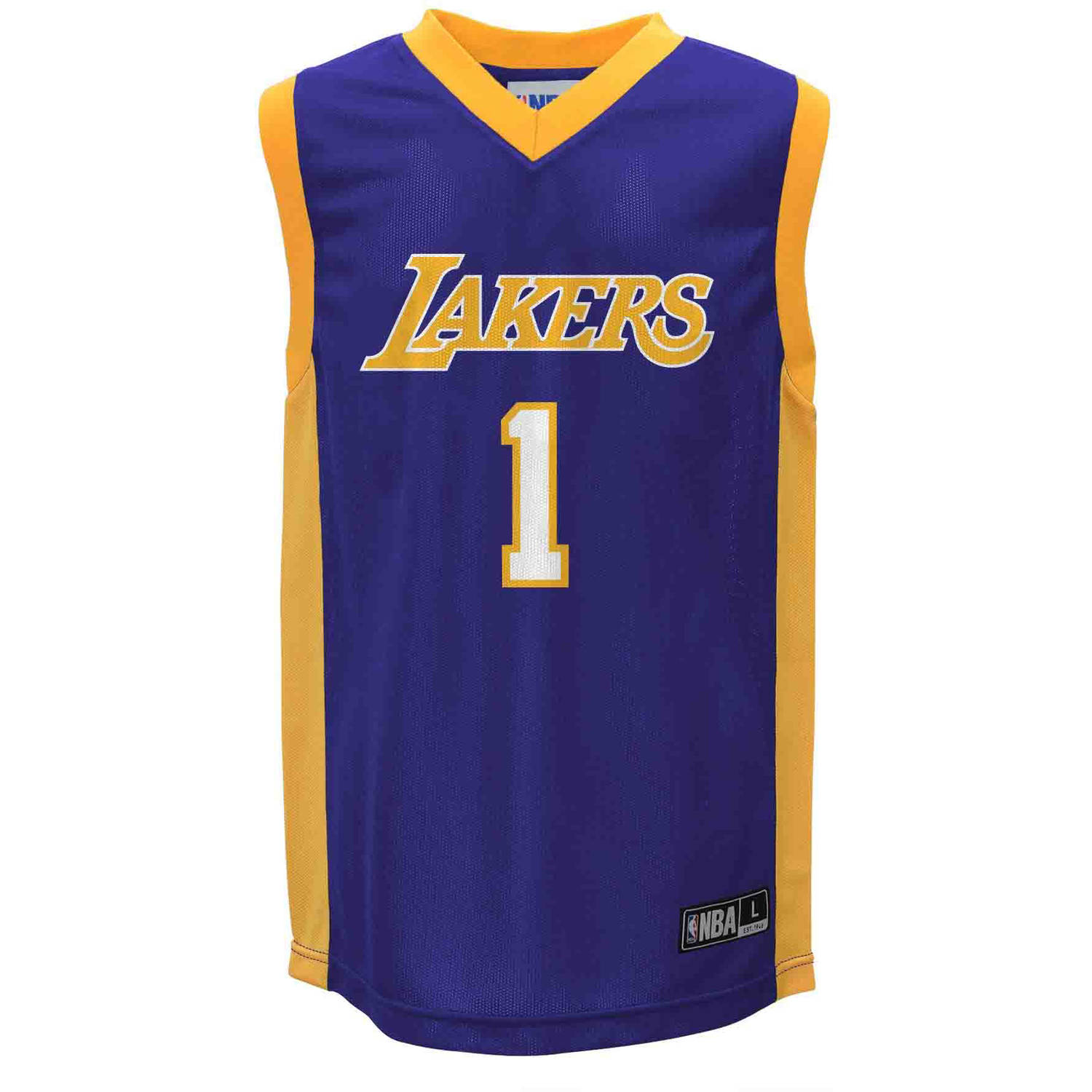 NBA Los Angeles Lakers D'Angelo Russell Youth Team Jersey